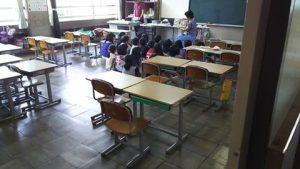 椎田小学校の読み聞かせのボランティアに参加しました!